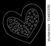 heart. heart of love.heart... | Shutterstock .eps vector #516852550