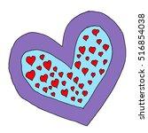 heart. | Shutterstock .eps vector #516854038