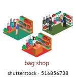 isometric infographic. interior ...   Shutterstock .eps vector #516856738