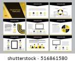 page layout design template for ... | Shutterstock .eps vector #516861580