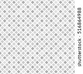 diamond pattern. seamless vector | Shutterstock .eps vector #516864988