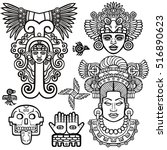 Set Of Graphic Elements Based...