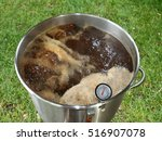 Boiling Wort Outdoors For Home...