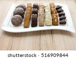 Closeup Of An Assortment Of...