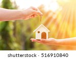 Buying A New House Concept  A...