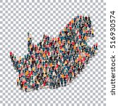 people map country south africa ... | Shutterstock .eps vector #516930574