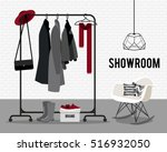 vector illustration with coat... | Shutterstock .eps vector #516932050