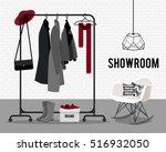 vector illustration with coat... | Shutterstock .eps vector #516932050