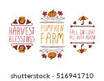 Hand Drawn Autumn Elements Wit...