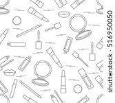 seamless pattern of different... | Shutterstock .eps vector #516950050