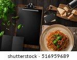 blank restaurant menu template... | Shutterstock . vector #516959689