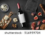 Cheese Appetizer Selection Wine Snack - Fine Art prints