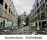 Large Crumbling Abandoned...