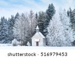 Small Wooden Chapel On...