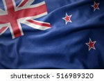 waving colorful national flag... | Shutterstock . vector #516989320