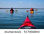 Two Guys In A Kayak. Kayaking...