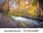 this is the minnehaha creek... | Shutterstock . vector #517022689