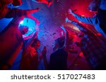 party with dancing | Shutterstock . vector #517027483