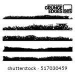 hand drawn edges pattern...   Shutterstock .eps vector #517030459