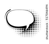blank template comic text... | Shutterstock .eps vector #517046494