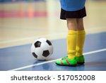 football futsal training for... | Shutterstock . vector #517052008