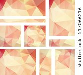 set of banner templates with...   Shutterstock .eps vector #517066216