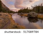 view along the madison river in ... | Shutterstock . vector #517089784