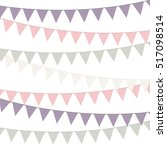 bunting soft color | Shutterstock .eps vector #517098514