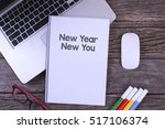 working space at the office... | Shutterstock . vector #517106374