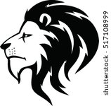 lion head icon | Shutterstock .eps vector #517108999