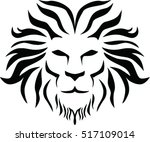 lion head icon | Shutterstock .eps vector #517109014