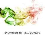 abstract background smoke... | Shutterstock . vector #517109698