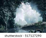 3d illustration of part of a... | Shutterstock . vector #517127290