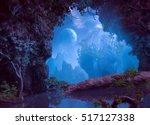 3d illustration of part of a... | Shutterstock . vector #517127338