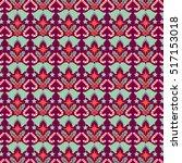 vector christmas pattern   Shutterstock .eps vector #517153018