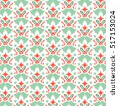 vector christmas pattern   Shutterstock .eps vector #517153024
