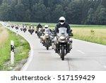 motorcyclist convoy pass... | Shutterstock . vector #517159429