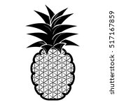 fresh fruit isolated icon | Shutterstock .eps vector #517167859