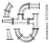 ventilation system elements...   Shutterstock . vector #517171546