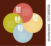 infographic presentation... | Shutterstock .eps vector #517183018