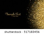 vector background with gold... | Shutterstock .eps vector #517183456