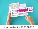 summary results research report ... | Shutterstock . vector #517188718