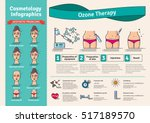 vector illustrated set with... | Shutterstock .eps vector #517189570