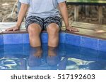 Nature Spa  Legs Of Woman In...