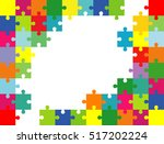 vector abstract colorful... | Shutterstock .eps vector #517202224