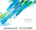 vector of modern abstract... | Shutterstock .eps vector #517211854
