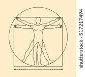 Leonardo Da Vinci Vitruvian Ma...