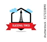Blackpool Tower Ribbon Banner...