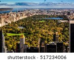 central park overview on an... | Shutterstock . vector #517234006