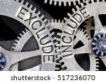 macro photo of tooth wheel... | Shutterstock . vector #517236070